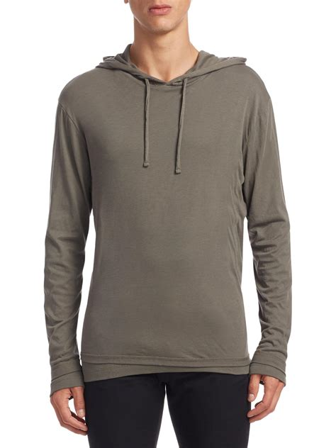Hoodie Pullover 93 Pcs lyst vince layer pullover hoodie in grey for