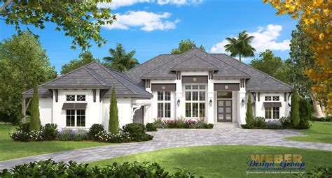 Beach House Plan Coastal West Indies Style Home Floor Plan West Indies Style House Plans