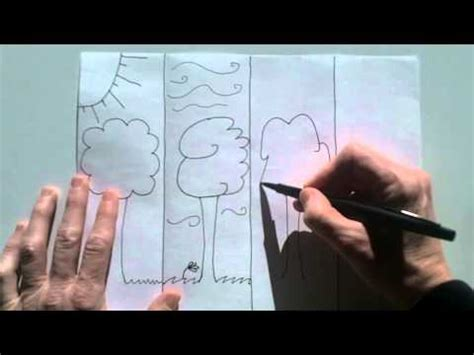 Step Weather A Day how to draw simple weather windy raining