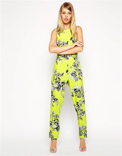 Flower Design Jumpsuit | floral jumpsuit dressed up girl