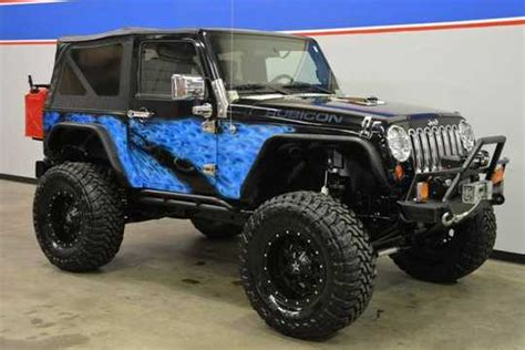 Rubicon Jeep Modified Jeep Rubicon Custom Mitula Cars