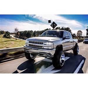 custom chevy silverado lifted on instagram