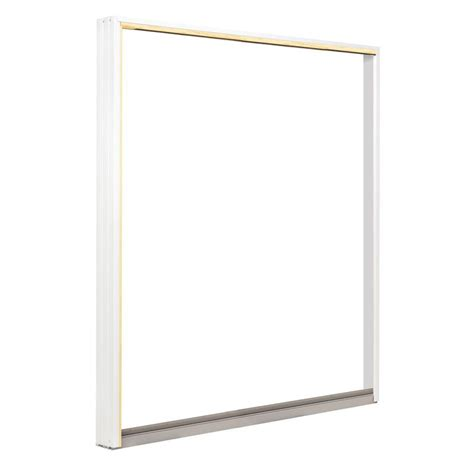Sliding Patio Door Frame Andersen 72 In X 80 In 400 Series Frenchwood Sliding Patio Door White Left Frame Kit