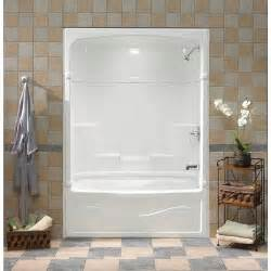 mirolin 60 inch 3 acrylic tub and shower