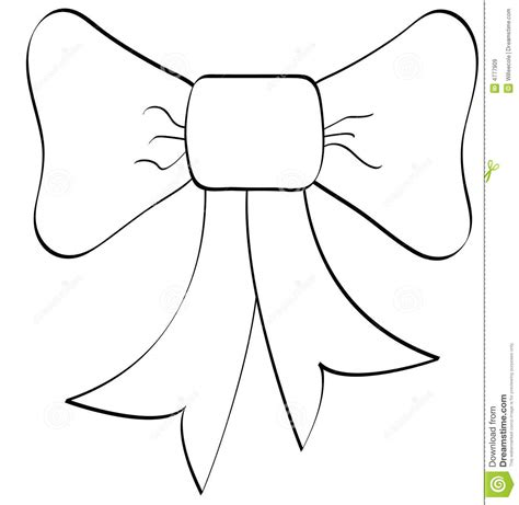best photos of cheer bow outline christmas bow clip art