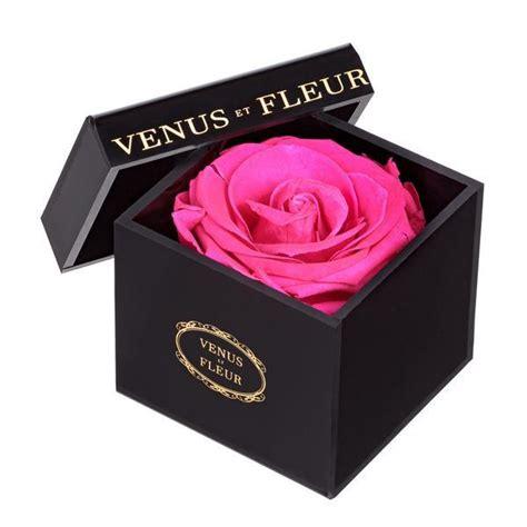 Box A Single White Preserved Flower Represent 스퀘어 1년동안 지속된다는 장미 jpg
