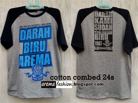 Kaos Arema Biru arema fashion kaos aremania indonesia