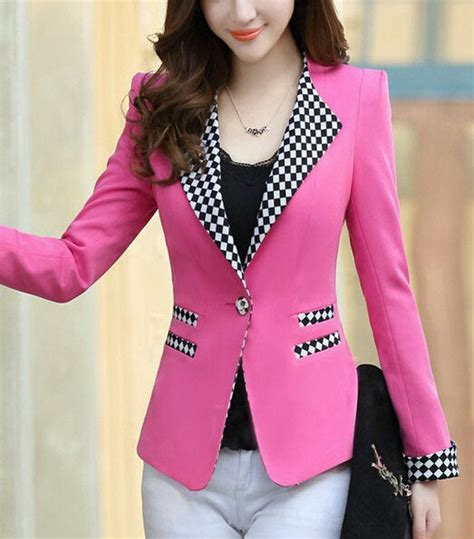 ladies jacket design colorful formal blazer design for women designers