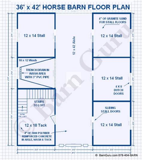 horse stall floor plans regina miniature horse barn plans