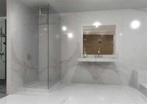 big or small tiles for small bathroom the biggest porcelain tile you ve ever seen