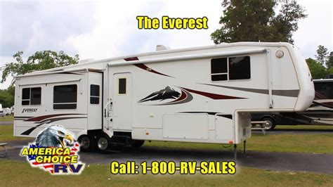 2005 Keystone Everest 363 Luxury Fifth 5th Wheel Camper RV AMERICA CHOICE RV   YouTube