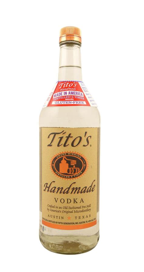 Titos Handmade Vodka - tito s handmade vodka astor wines spirits