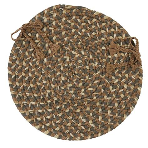 chair pads braided belmont chair pads colonial mills cmi braided rugs