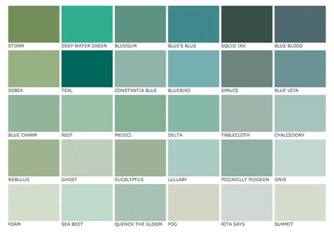 blue green paint paint colors katy elliott