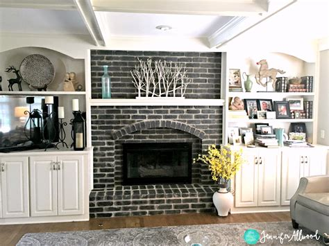 fireplace colors how to paint a black brick fireplace allwood