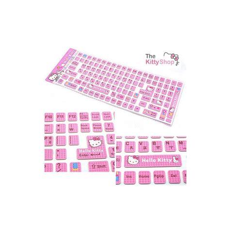 Hello Keyboard Sticker hello keyboard sticker pink the shop