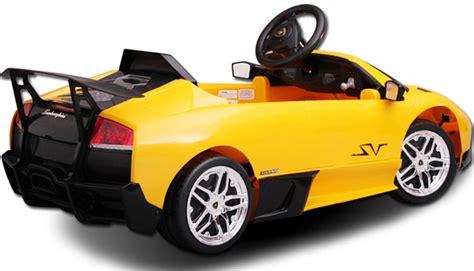 kid car lamborghini buy licensed lamborghini electric cars 6v 12v lambo