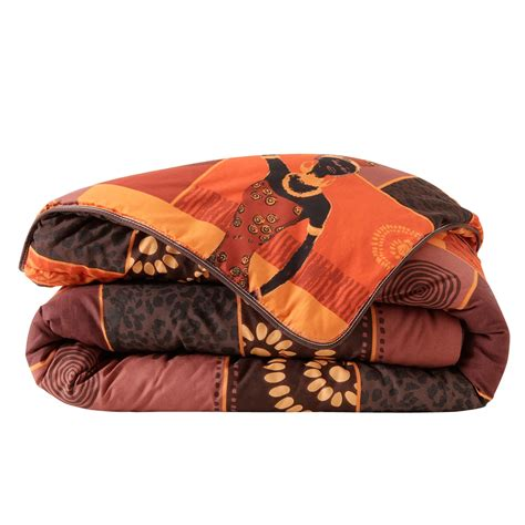 Couette 400g by Couette Coton Imprim 233 E Africa 400g M2 Blancheporte