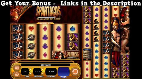 spartacus slots   slot games    usa casinos youtube