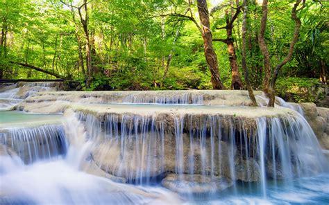 imagenes hermosas de verano descargar fondo de pantalla cascadas arboles bosque verano