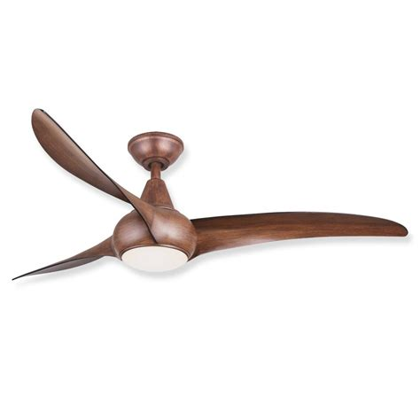 Unique Ceiling Fans With Lights Minka Aire Wave F844 Dk Ceiling Fan Distressed Koa