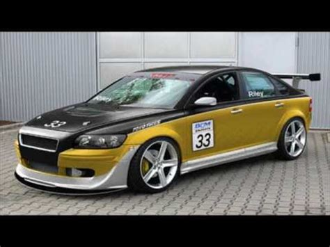 exotic cars volvo  race version modified youtube