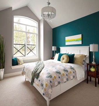 Grey And Teal Wall