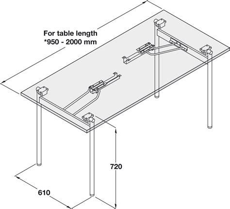 gestell aus stahl gestell f 252 r klapptischbeschlag aus stahl im h 228 fele