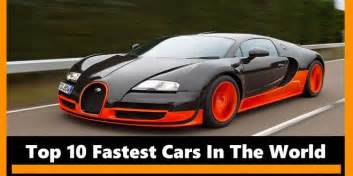 Top 10 Cars Top 10 Fastest Cars In The World 2017 Top 10