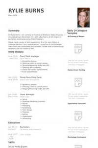 front desk manager resume sle cover letter office manager resume office manager resume