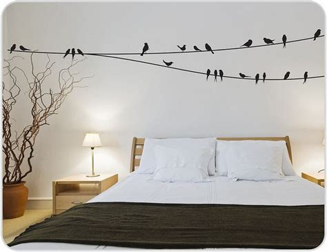 bedroom wall stickers birds on a wire wall stickers room concept wall decals 10749   ea2f085186d4a82be97ca1356c571adf