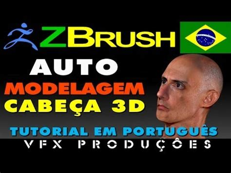 Tutorial Zbrush Em Portugues | tutorial zbrush portugu 234 s auto modelagem pintura