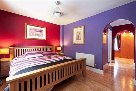 master bedroom design purple color interior with wall analogous colors how to create harmonious color