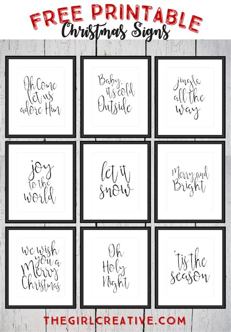 printable christmas signs free printable christmas signs holiday words word art