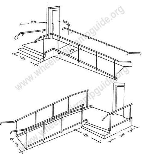 Floor Plans For Handicap Accessible Homes wheelchair ramp plans available online for the garage