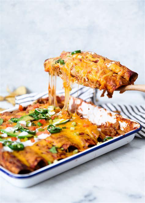 Great Home Plans by Skinny Chicken Enchiladas Skinnytaste
