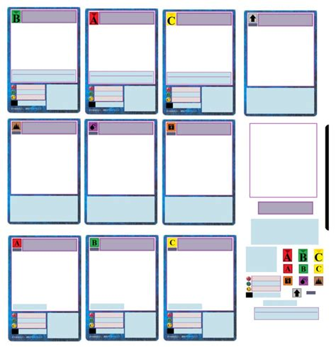 Make Your Own Trading Cards Template Free by Custom Digimon Card Set By Artman101 On Deviantart