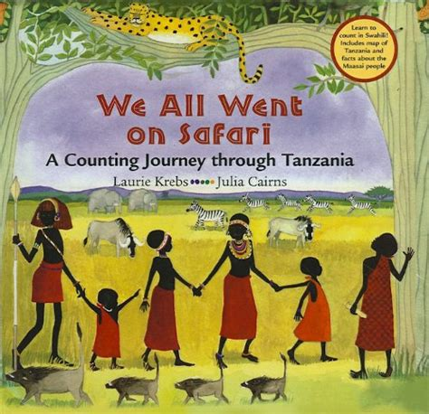 i africa books we all went on safari learning with mrs brinn