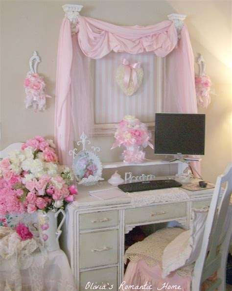 home decor shabby chic shabby chic home office decor for tight budget office