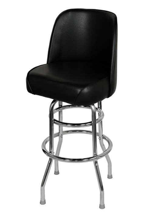 chrome swivel bar stools with back chrome swivel bar stool with a single double ring