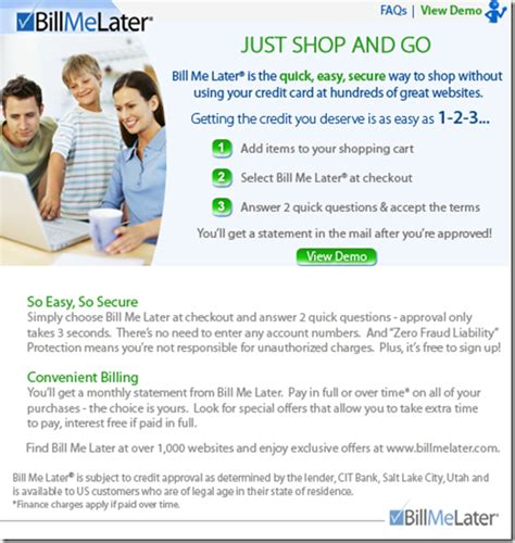 Bill Me Later Amazon Gift Card - email sles archives page 4 of 8 finovate