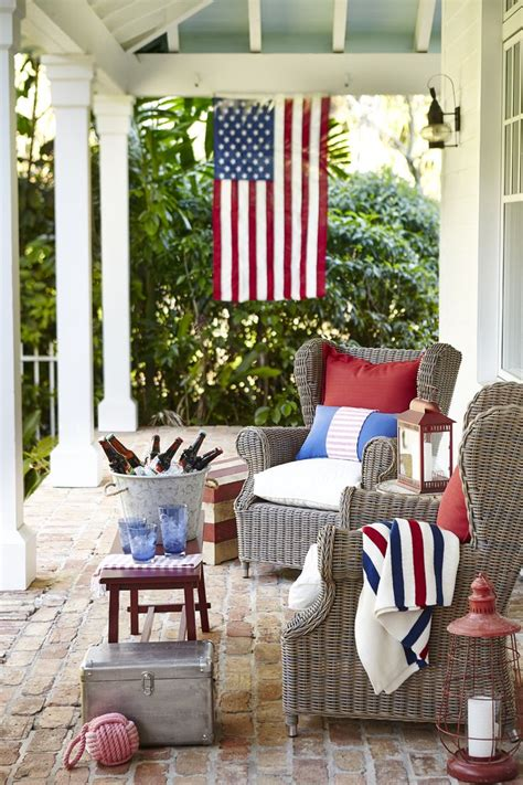 red and blue home decor decorate for the 4th of july tuvalu home