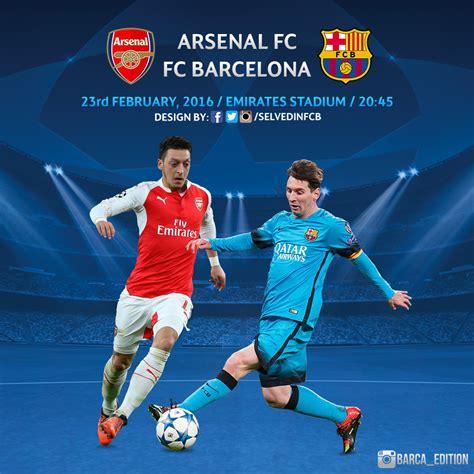 wallpaper barcelona vs arsenal arsenal vs fc barcelona chions league 2016 by