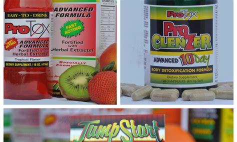 Protox Detox Pills by Detox Kit Advanced Formula 16 Oz Tropical Protox Detox