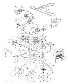 poulan pp24va54 96046008000 2015 08 parts diagram for mower deck cutting deck