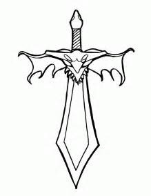sword coloring pages warren s free coloring book