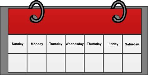 calendar clip at clker vector clip