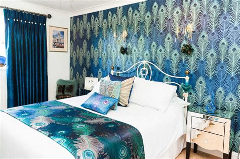 Bedroom Carpet Leicester Vibrant Blue Bedroom Brookside Curtains Leicester