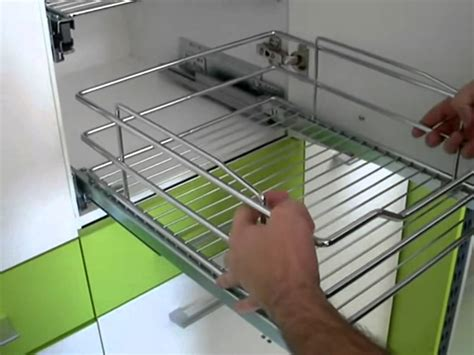 How we can set Modular kitchen accessories I Basket, in