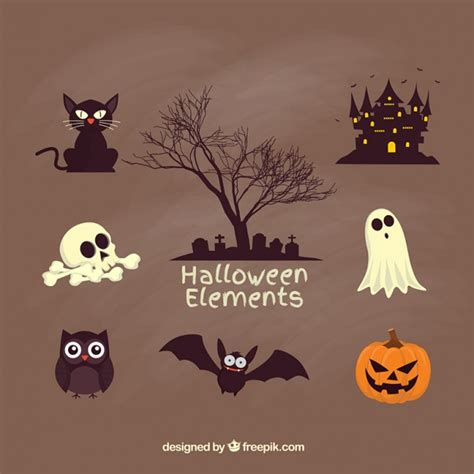 imagenes de halloween it escalofriantes elementos para halloween descargar